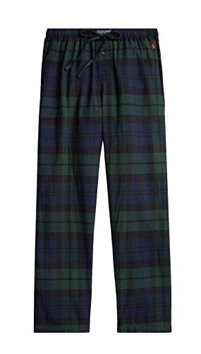 Polo Ralph Lauren - Pantalones de franela para hombre - negro - X-Large