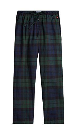 Polo Ralph Lauren Hombres de Franela Sleep Pantalones de Pijama