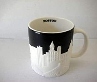 Starbucks Boston Relief Mug From Their City Relief Mug Collector Series, 16 Fl Oz