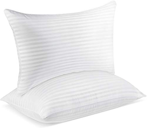 SUMITU Hotel Pillows for Sleeping 2 Pack Standard Size 20 x 26 Inches, Hypoallergenic Pillow for Side and Back Sleeper, Soft Bed Gel Pillows Set of 2, Down Alternative Cooling Pillow
