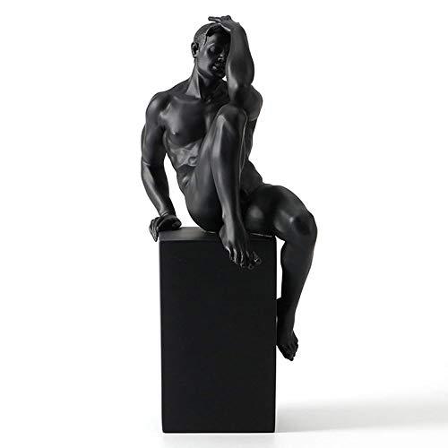 YL-adorn art Estatua Sculpture Figurine Resumen Body Nude Es