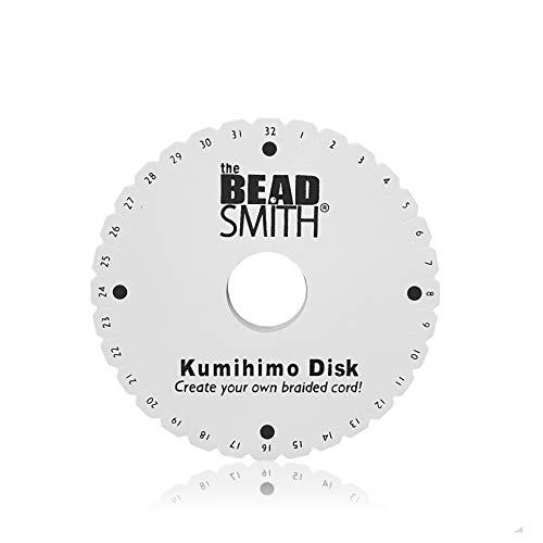 Kumihimo Flecht-Scheibe, braiding disk, rund, 15 cm, für Paracord 550