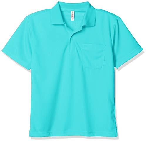 [グリマー] 半袖 4.4オンス ドライ ポロシャツ [ポケット付] ミントブルー 日本 SS (-)