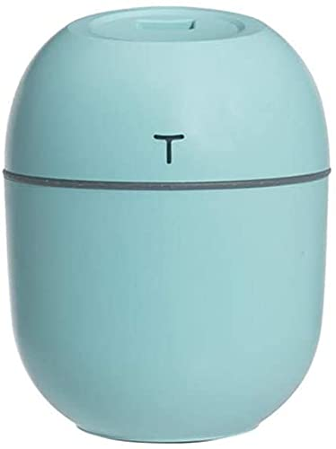 Humidificador ultrasónico mini humidificador de aire 200 ml aroma esencial aceite difusor hogar USB Máquina de niebla Difusor de aire Dillificador Humidificador-humidificador blanco (color: rosa) wang