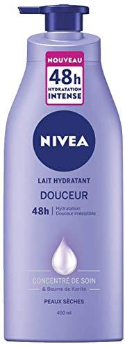 NIVEA Lait Hydratant Douceur 48h, Soin corporel...