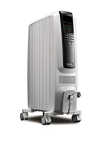 DeLonghi - Calentador de espacio con radiador lleno de aceite.