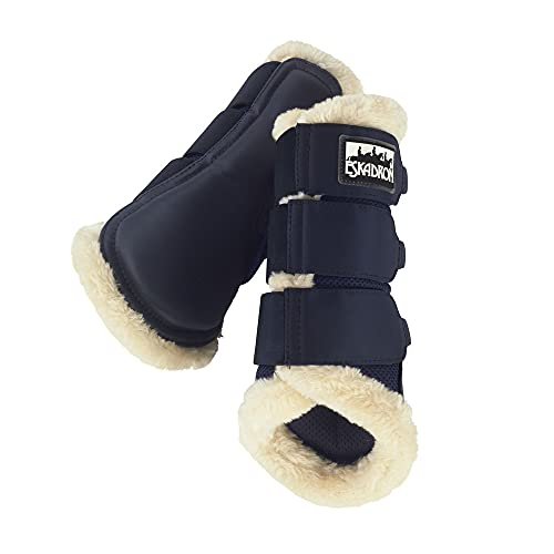 Eskadron Gamaschen Tendon Boots Soft MESH FAUXFUR Basics Nightblue M