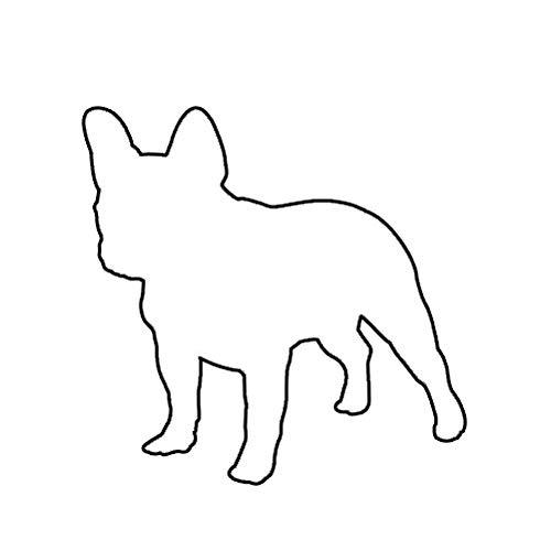 MAGNET French Bulldog Dog Canine Frenchie Magnetic Vinyl Car Fridge Sticks to any Metal Surface 5'