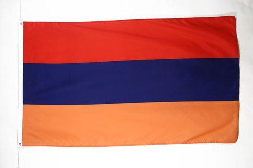 AZ FLAG Flagge ARMENIEN 150x90cm - ARMENISCHE Fahne 90 x 150 cm feiner Polyester - flaggen