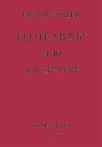 Music for Flute from the 18th Century Fl