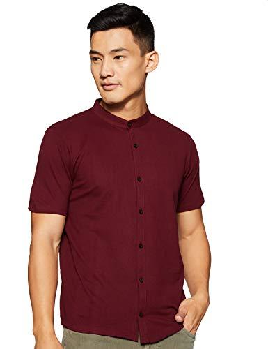 Neostreak Men's Plain Slim fit Apparel (neopoloshirt-mar-m_Maroon M)