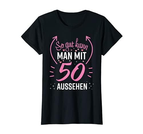 Damen 50 Geburtstag Frauen Frau Deko Lustig 50er 1971 Geburtstag T-Shirt