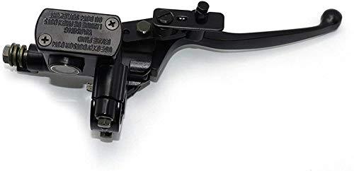 Palanca de embrague de motocicleta Frenos hidráulicos de la motocicleta Universal 22mm Motocicleta Freno de la palanca de la palanca de la paloma del cilindro del cilindro Accesorios de la manija 50-2