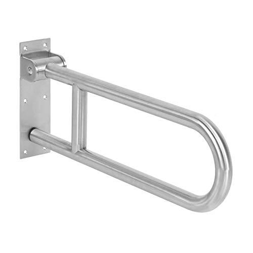 Handrail Faltbare U-Form-Badezimmer-Sicherheitsgrabbar-Bar-Edelstahl-WC-Handlauf-Anti-Rutsch-Griff-Badezimmer-Hardware-Zubehör für ältere Menschen