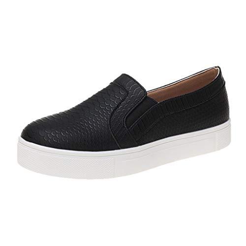 Mujer Zapatillas Planas Mujer Mocasines Plataforma Casual Loafers Primavera Verano Zapatos de Cuña