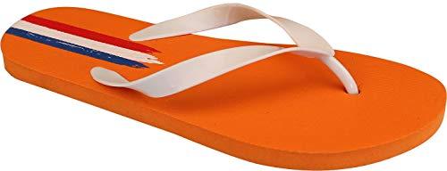 SCHREUDERS SPORT Waimea PVC Welt Triomph Flip Flops 40 Orange