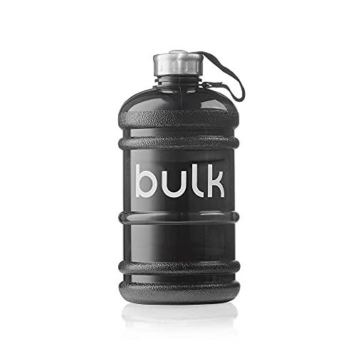 Bulk - Borraccia da mezzo gallone, colore nero canna di fucile, 2,2 litri, confezione può variare