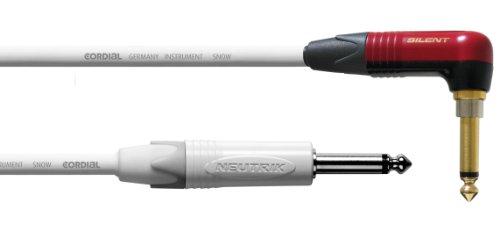 Cordial CXI 6 RP-SNOW-SILENT - Cable para instrumentos (6 m)