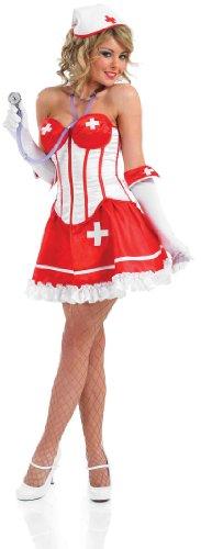 SEXY TUTU NURSE Adult Fancy Dress Costume All Sizes