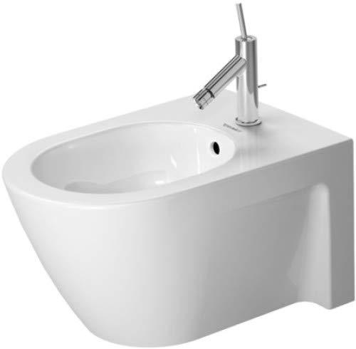 Duravit 2271150000 Bide Suspendido, Coleccion Starck 2, Blanco, Ceramica, 370 x 540 mm