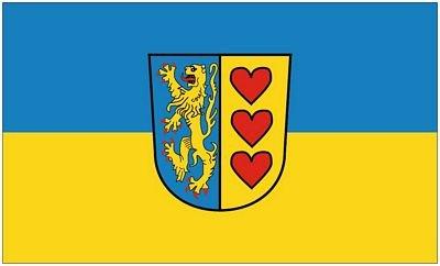 Fahne / Flagge Landkreis Lüneburg 90 x 150 cm