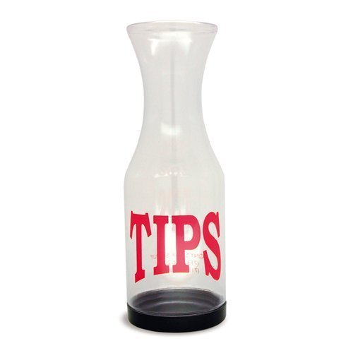 TableCraft 812 Tip Carafe with Removable Anti Theft Bottom