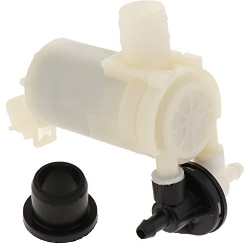 Baoblaze 2,4 L Waschwasserpumpe für Honda CRV 2007-2011 Scheiben- und Scheinwerferreinigungsanlage, 12 Volt, 1 Stück