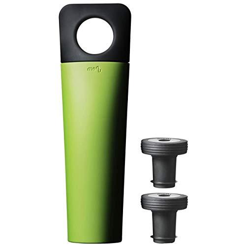 Menu 4622439 Enjoy Water & Wine Blade Vakuumverschluss, grün