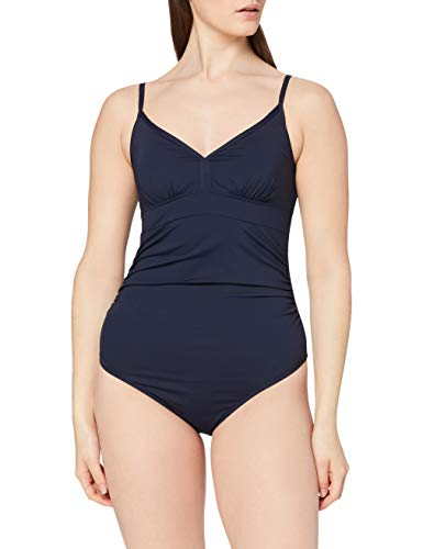 ESPRIT Maternity Damen Swimsuit M84850 Umstandsbadeanzug, Blau (Night Blue 486), 38 (Herstellergröße: M/L)