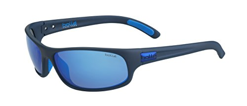 Bollé Erwachsene Anaconda Sonnenbrille, Matt Mono Blue, Medium