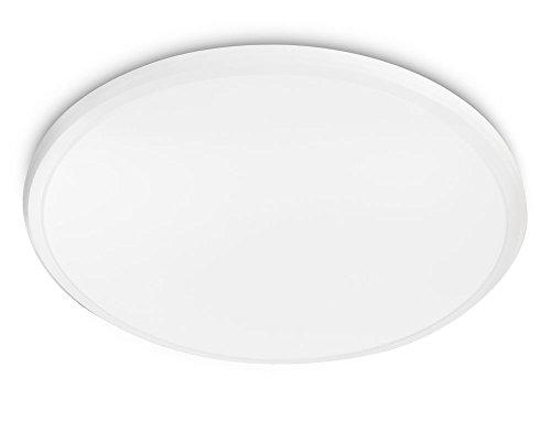 Philips myLiving Twirl - Plafón, LED, iluminación interior, 17 W, luz blanca cálida, color blanco
