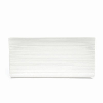 Maxwell and Williams Basics Plateau rectangulaire Blanc 5,5 cm