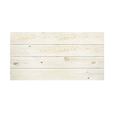 Uso: Cabecero válido para camas de 200, camas de 150 y camas de 120. Calidad: Cabecero realizado en madera de Pino Flandes de primera calidad. Es un clásico de nuestra colección, uno de nuestros best sellers. Muy fácil de combinar con cualquier estil...