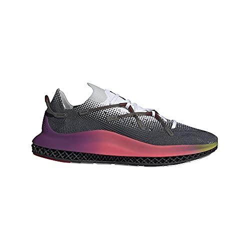 Zapatilla Hombre Running Adidas 4D Fusio Color Cloud White/Ultra Purple/Core Black Talla 44 2/3