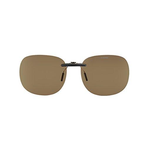 SWANS(スワンズ) サングラス メガネにつける クリップオン 固定タイプ SCP-11 LBR2 偏光ライトブラウン2