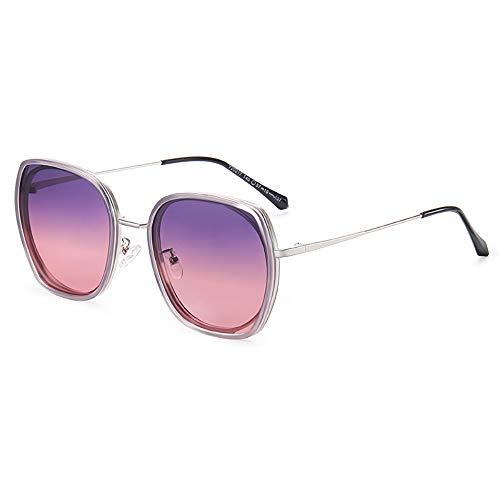 GUANGE Gafas de sol polarizadas para mujer, de gran tamaño, protección UV400, para conducir, ciclismo, golf, pesca, correr, vela, esquí, regalos para damas, color gris