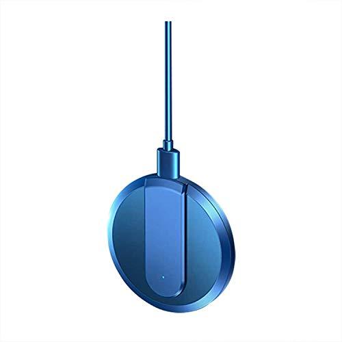 OH Adecuado para Iphone 12 12Pro Max 12Mini, Teléfono Móvil Blue Teléfono Móvil Cargador Inalámbrico 15W Carga Inalámbrica Rápida Magnética Compatibilidad inteligente