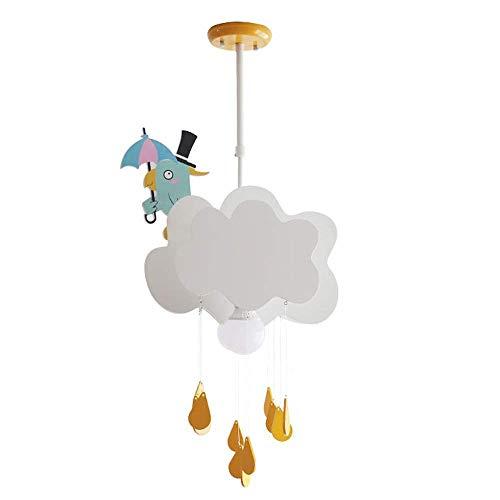 UWY Candelabro nórdico Simple Nube luz de Techo para habitación de niños lámpara de Dormitorio para niño niña lámpara Creativa iluminación Colgante luz