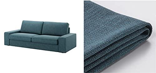 Original IKEA Cover for Kivik Model - Slipcover Only (Hillared Dark Blue, Sofa)
