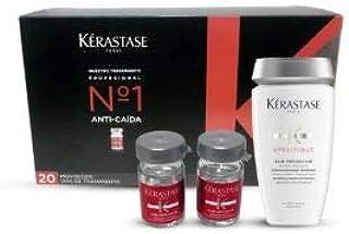 KERASTASE AMINEXIL 20 AMPOLLAS +CHAMPU PREVENTION 250 ML DE REGALO ...