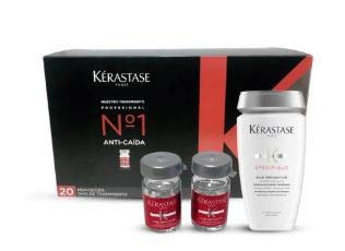 KERASTASE AMINEXIL 20 AMPOLLAS +CHAMPU PREVENTION 250 ML DE REGALO