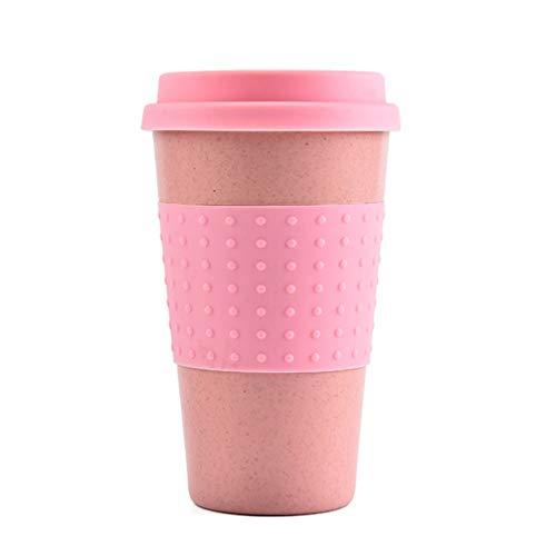 TOPBATHY silikon kaffeetasse pp zahnbürste Tasse einfache trinkbecher Weihnachtsfeier Tasse 201-300 ml rosa
