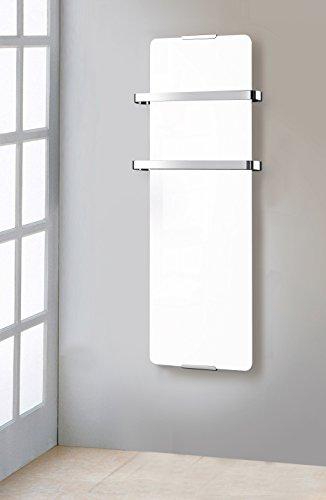 Chemin\'Arte - Secador de Toallas eléctrico (1200 W, 175 120 x 6 x 46 cm), Color Blanco