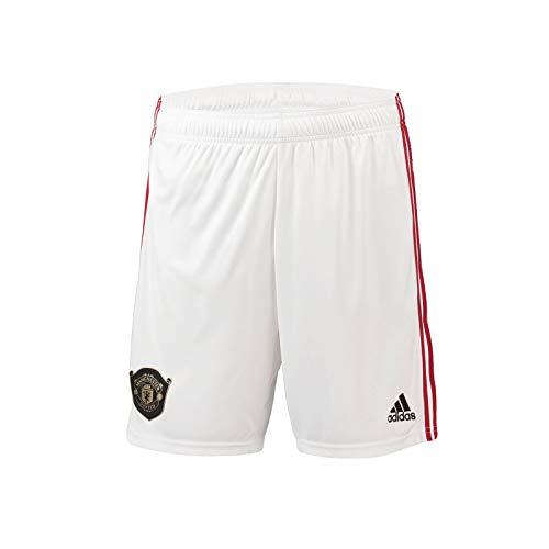 Manchester United FC - Herren Heim-Shorts von 2019/20 - Offizielles Merchandise - Geschenk für Fußballfans - 3XL