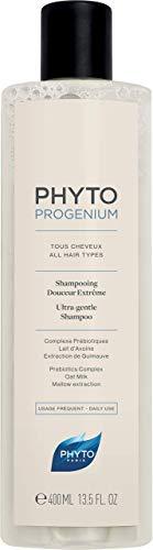 Phyto Phytoprogenium Shampoo Delicato, Adatto a Tutti i Tipi di Capelli, Ottimale per Uso Quotidiano, Formato da 400ml
