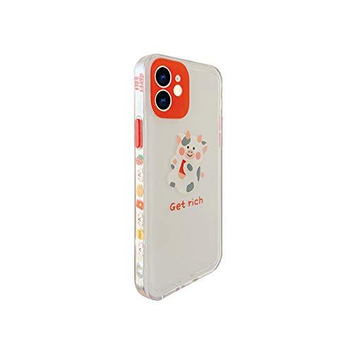 Carcasa para iPhone Xs 12 Mini 11 Pro Max 7 8 Plus Se 2020 X Xr suave transparente a prueba de golpes -Bb304-2-For-iPhone 7