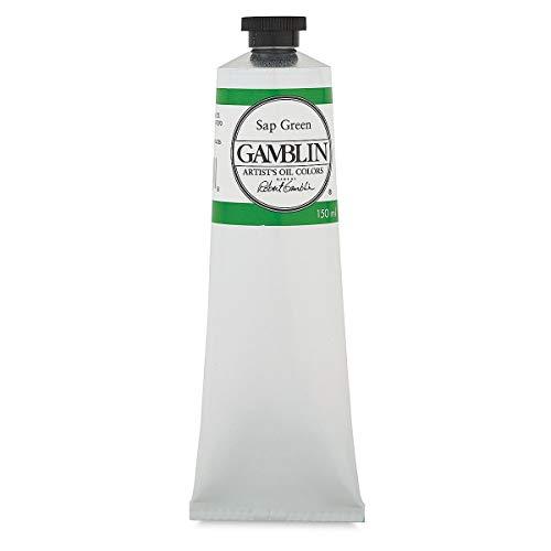 Gamblin Artist Oil Color - Sap Green - 150 ml Tube