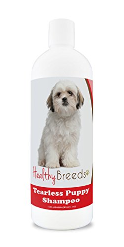 Healthy Breeds Puppy Shampoo Natural for Shih Tzu - OVER 100 BREEDS - Nourishes & Moisturizes for Growth - Safe with Flea and Tick Topicals - 16 oz
