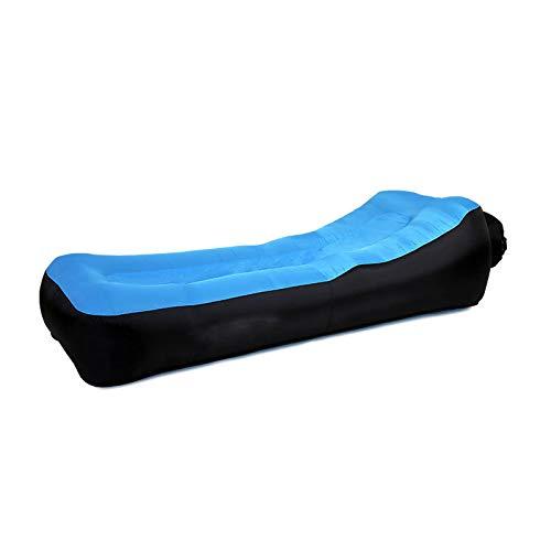 Z-GJM Type D'Oreiller Portable Canapé-Lit Gonflable en Plein Air Pliable Canapé Gonflable Rapide de Grande Taille Une DéCoration de Maison Moderne Parfaite Peut Ajouter un Pe