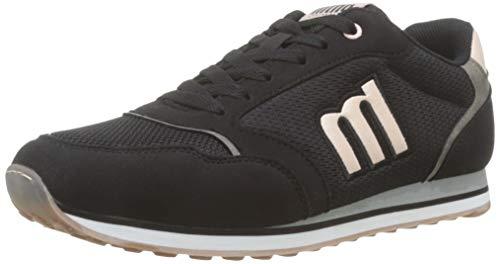 MTNG Attitude 69432, Zapatillas para Mujer, Negro (Raspe Negro/Glare Nude/Tampa Gris Oscuro C45921), 37 EU